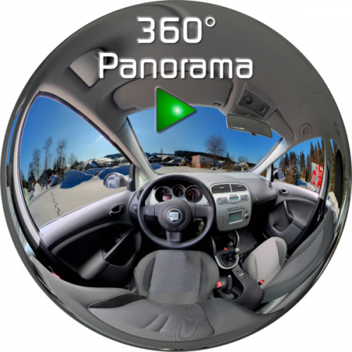 360° Panorama Seat Altea HTML5 / Flash