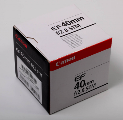 Verpackung - Canon EF 40mm 2.8 STM