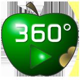 """Kein Vollbild und 3D Sound mit Ipad oder Iphone? Der """"saure Apfel"""" hilft ! Bei Iphone und Ipad ist der Vollbildmodus in Safari und """"Autoplay"""" für 3D Sound deaktiviert, klicken Sie hier für die bestmögliche Darstellung."""