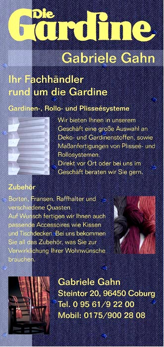 Gardinen Gahn Coburg | Pauwnieuws