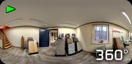 360° Panorama Ausstellung Vinylböden Firma Habelitz aus Mitwitz bei Kronach