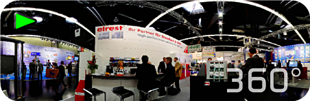 360° Panorama Tour Elrest Messestand